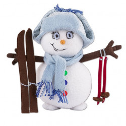 Снеговик, набор для шитья. Miadolla