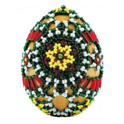 """Яйцо """"Лужицкие мотивы"""", набор для бисероплетения. Риолис"""