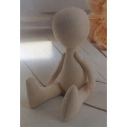 Заготовка для куклы 24см