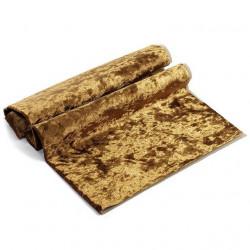 Темное золото, винтажный плюш М-4005(25) 100%полиэстер 50х50(±1см)