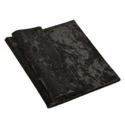 Черный, винтажный плюш М-4007(30) 100%полиэстер 50х50(±1см)