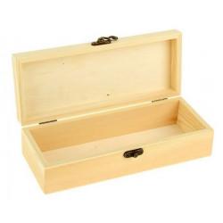 Шкатулка деревянная 24х9,5х6см АртУзор