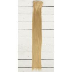 Русый, прямые волосы для кукол 40см на трессе 50см цв.№15 SL