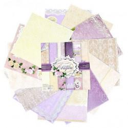 Наша Свадьба, набор двусторонней бумаги для скрапбукинга 30,5*30,5см 12листов 180г/м АртУзор