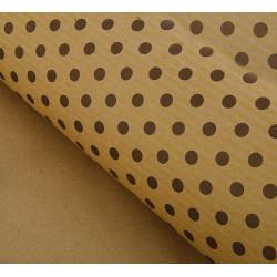 Горох коричневый, крафт бумага упаковочная 100х70см SL