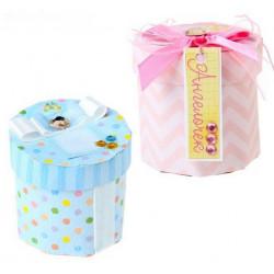 Мое счастье, набор для изготовления коробочки-бонбоньерки 2шт+декор картон АртУзор