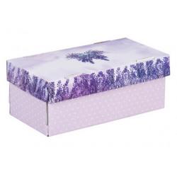 Счастье в каждом дне, коробка складная 25,5х12,5х10см гофрокартон АртУзор