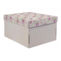 Нежность дня, коробка складная 31х26х16см гофрокартон АртУзор
