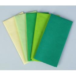 Изумруд, набор бумаги тишью 5листов 50х70см Werola(SL)