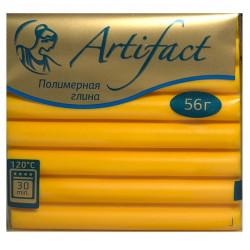 Желтый, полимерная глина запекаемая 56гр Artifact