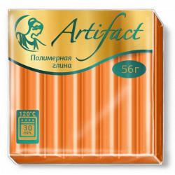 Апельсиновый, полимерная глина запекаемая 56гр Artifact