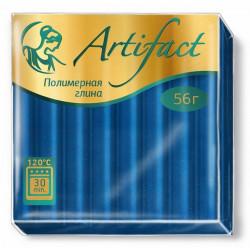 Синий, полимерная глина запекаемая 56гр Artifact