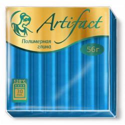Голубой, полимерная глина запекаемая 56гр Artifact
