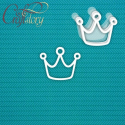 Корона, шейкер 7,4х6см CraftStory