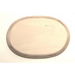 Накладка фигурная 2-03, заготовка для декорирования фанера 8мм, 13.5х9см NZ