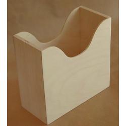 Салфетница Гауди малая, заготовка для декорирования фанера 3-8мм 14х6,5х12,5см NZ