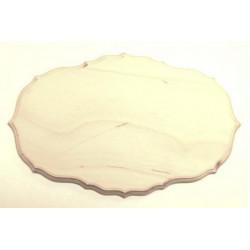 Накладка фигурная 4-03, заготовка для декорирования фанера 8мм, 24х15см NZ