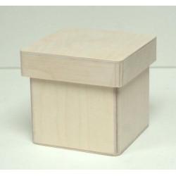Короб Прованс низкий, заготовка для декорирования фанера 3-9мм 10х10х10см NZ