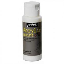 Лак с глиттер-эффектом прозрачный Acrylic paint 59мл Pebeo