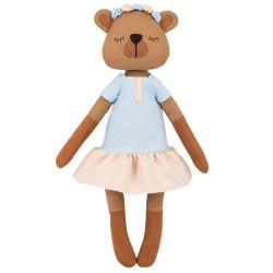 Мишка Лулу, набор для шитья 37см. Miadolla