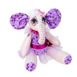 Слоник Лили, набор для шитья. Miadolla