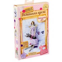 Лавандовая фея, набор для шитья куклы 40см АртУзор