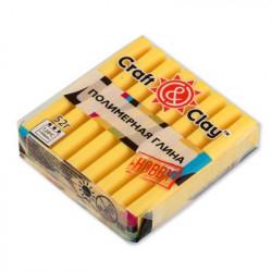 Лимонный, полимерная глина, 52гр. Craft&Clay