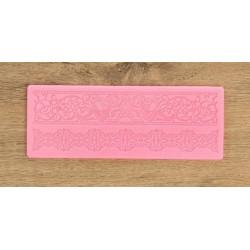 Винтаж, молд силиконовый (коврик для айсинга) 18,5х7х0,3см SL