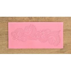 Арт, молд силиконовый (коврик для айсинга) 16,5х8х0,3см SL