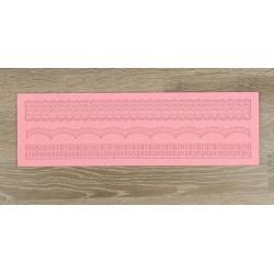Ретро, молд силиконовый (коврик для айсинга) 40х12х0,4см SL