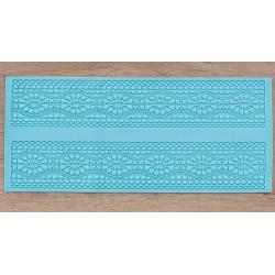 Цветочный ряд, молд силиконовый (коврик для айсинга) 39х16х0,3см SL