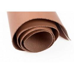 Коричневый, кожа искусственная 50х35(±1см) плотность 300 г/кв.м.