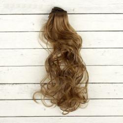 Св.русый, кудри волосы для кукол 40см на трессе 50см цв.№18 SL