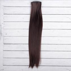 Шатен, прямые волосы для кукол 40см на трессе 50см цв.№6А SL