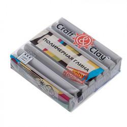 Жемчужно-серый, полимерная глина, 52гр. Craft&Clay