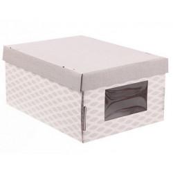 Легкость дня, коробка складная с окошком 31х26х16см гофрокартон АртУзор