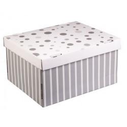 Стильный дом, коробка складная 31х26х16см гофрокартон АртУзор
