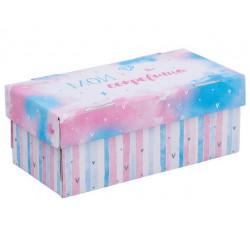 Мечта, коробка складная 25,5х12,5х10см гофрокартон АртУзор