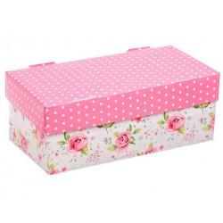 Цветочная радость, коробка складная 25,5х12,5х10см гофрокартон АртУзор