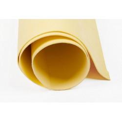 Бл.жёлтый, кожа искусственная 50х35(±1см) плотность 300 г/кв.м.