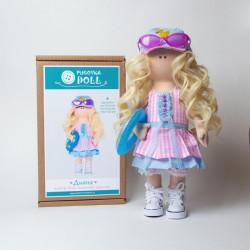 Диана, набор для шитья куклы 35см. Pugovka Doll