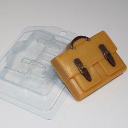 Портфель с 2-мя карманами, пластиковая форма XD