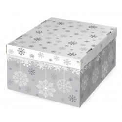 Let it snow, коробка складная 31х26х16см гофрокартон АртУзор