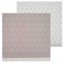 Стёганая ткань, фотофон двусторонний 45х45см картон