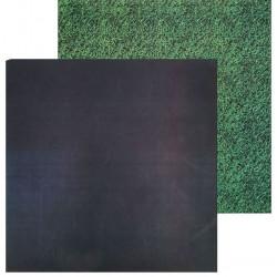 Грифельная доска–трава, фотофон двусторонний 45х45см картон