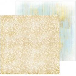 Блестящее золото, фотофон двусторонний 45х45см картон
