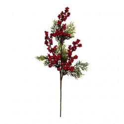 Веточка с ягодами, декоративный элемент для флористики 40см, 1шт. Blumentag