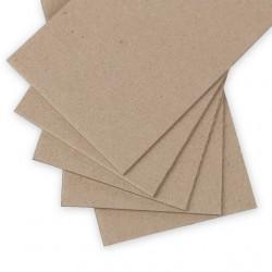 Набор переплетного картона 2мм 1250 г/м2  20х20см 5 листов. Love2art