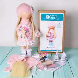 Маша, набор для шитья куклы 35см. Pugovka Doll