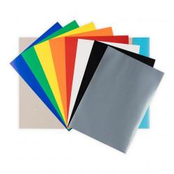 Цветной картон, набор 8 листов 200г/кв.м. 21х29.7см
